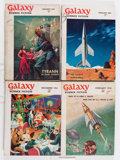 Pulps:Science Fiction, Galaxy Box Lot (Universal Publishing, 1951-63) Condition: AverageGD....