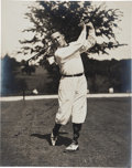 Golf Collectibles:Autographs, 1933 Bobby Jones Signed Photograph, PSA/DNA Mint 9....