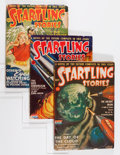 Pulps:Science Fiction, Startling Stories Box Lot (Standard, 1945-55) Condition: Average VG....