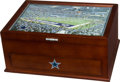 """Football Collectibles:Others, 1990's Dallas Cowboys """"Danbury Mint"""" Jewelry Valet Box...."""