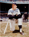 """Autographs:Others, Circa 1990 Mickey Mantle """"HOF 1974"""" Signed Large Photograph...."""