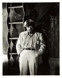 """Peter Lorre in They Met in Bombay by Clarence Bull (MGM, 1941). Portrait Photo (8"""" X 10"""")"""