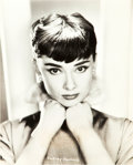 "Movie Posters:Romance, Audrey Hepburn (Paramount, 1954). Portrait Photo (7.25"" X 9"").. ..."