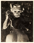"Movie Posters:Horror, Witchcraft Through the Ages (Svensk Filmindustri, 1922). Danish Photo (8"" X 10"").. ..."