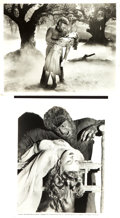 """Movie Posters:Horror, The Wolf Man (Universal, 1941). Photos (2) (8"""" X 10"""").. ... (Total: 2 Items)"""