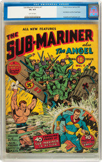 Sub-Mariner Comics #1 (Timely, 1941) CGC VG 4.0 Light tan pages