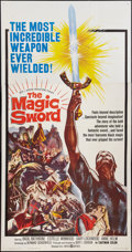 "Movie Posters:Fantasy, The Magic Sword (United Artists, 1962). Three Sheet (41"" X 81"").Fantasy.. ..."