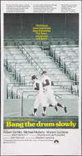 """Movie Posters:Sports, Bang the Drum Slowly (Paramount, 1973). Three Sheet (41"""" X 81""""). Sports.. ..."""