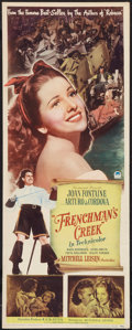 "Movie Posters:Adventure, Frenchman's Creek (Paramount, 1944). Insert (14"" X 36"").Adventure.. ..."