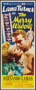 "Movie Posters:Musical, The Merry Widow (MGM, 1952). Insert (14"" X 36""). Musical.. ..."