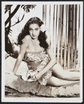 "Movie Posters:Miscellaneous, Dorothy Lamour in ""Aloma of the South Seas"" (Paramount, 1941). Pinup Photo (8"" X 10""). Miscellaneous.. ..."