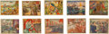 "Non-Sport Cards:Sets, 1938 R69 Gum Inc. ""Horrors of War"" Complete Set (288) Plus FiveScarce Prize/Promo Backs. ..."