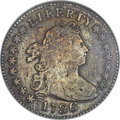 Early Dimes, 1796 10C -- Corroded, Tooled -- ANACS. VF20 Details. JR-1, R.3....