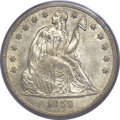 Seated Dollars, 1859-O $1 MS64 PCGS. CAC....