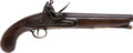 Handguns:Muzzle loading, Late 18th Century Military Style British Flintlock Holster Pistol....