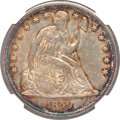 Seated Dollars, 1859-S $1 MS61 NGC....