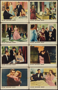 """Indiscreet (Warner Brothers, 1958). Lobby Card Set of 8 (11"""" X 14""""). Romance. ... (Total: 8 Items)"""