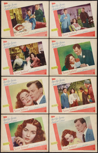 """Love Letters (Paramount, 1945). Lobby Card Set of 8 (11"""" X 14""""). Drama. ... (Total: 8 Items)"""