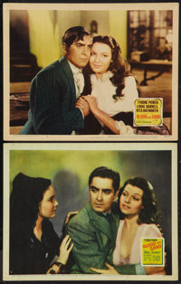 """Blood and Sand (20th Century Fox, 1941 and R-1948). Lobby Cards (2) (11"""" X 14""""). Drama. ... (Total: 2 Items)"""