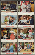 """Movie Posters:Musical, Billy Rose's Jumbo (MGM, 1962). Lobby Card Set of 8 (11"""" X 14"""").Musical.. ... (Total: 8 Items)"""