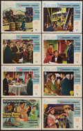 "Movie Posters:Adventure, The Mississippi Gambler (Universal International, 1953). Lobby CardSet of 8 (11"" X 14""). Adventure.. ... (Total: 8 Items)"
