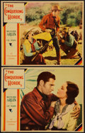 """Movie Posters:Western, The Conquering Horde (Paramount, 1931). Lobby Cards (2) (11"""" X 14""""). Western.. ... (Total: 2 Items)"""