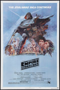 "Movie Posters:Science Fiction, The Empire Strikes Back (20th Century Fox, 1980). One Sheet (27"" X41""). Style B. Science Fiction.. ..."