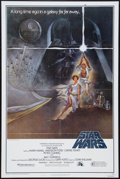 """Movie Posters:Science Fiction, Star Wars (20th Century Fox, 1977). One Sheet (27"""" X 41""""). Style A.Science Fiction.. ..."""