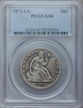Seated Half Dollars: , 1872-CC 50C Good 6 PCGS. PCGS Population (9/115). NGC Census:(1/51). Mintage: 257,000. Numismedia Wsl. Price for problem f...