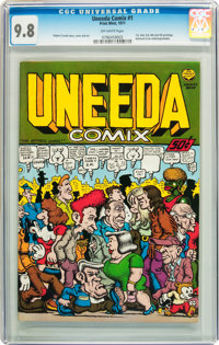 Uneeda Comix #1 (Print Mint, 1971) CGC NM/MT 9.8 Off-white pages