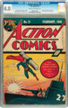 Action Comics #21 (DC, 1940) CGC VG 4.0 Cream to off-white pages