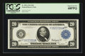 Large Size:Federal Reserve Notes, Fr. 987a $20 1914 Federal Reserve Note PCGS Superb Gem New 68PPQ.. ...