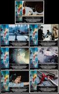 "Movie Posters:Action, Superman the Movie (Warner Brothers, 1978). Lobby Cards (7) (11"" X14""). Action.. ... (Total: 7 Items)"