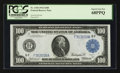 Large Size:Federal Reserve Notes, Fr. 1104 $100 1914 Federal Reserve Note PCGS Superb Gem New 68PPQ.. ...