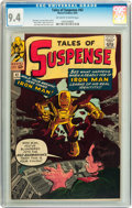 Silver Age (1956-1969):Superhero, Tales of Suspense #42 (Marvel, 1963) CGC NM 9.4 Off-white to whitepages....