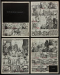 "Original Comic Art:Miscellaneous, Harvey Kurtzman Help! #16 Preliminaries/Storyboard Layouts for Complete 4-page Fumetti Story ""Inside Requiem for a... (Total: 2 Items)"