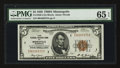 Small Size:Federal Reserve Bank Notes, Fr. 1850-I $5 1929 Federal Reserve Bank Note. PMG Gem Uncirculated 65 EPQ.. ...