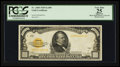 Small Size:Gold Certificates, Fr. 2408 $1000 1928 Gold Certificate. PCGS Apparent Very Fine 25.. ...