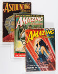 Pulps:Science Fiction, Assorted Science Fiction Pulps Group (Various, 1938-52).... (Total: 4 Items)