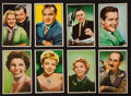 "Non-Sport Cards:Sets, 1952 Bowman ""T.V. and Radio Stars of N.B.C."" Complete Set (36). ..."
