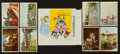 "Non-Sport Cards:Sets, 1965 Donruss ""Disneyland"" Complete Set (66) Plus Wrapper. ..."