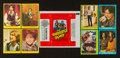 "Non-Sport Cards:Sets, 1971 Topps ""Partridge Family"" Series 1, 2 and 3 Complete Sets (3)Plus Wrapper. ..."