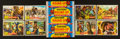 "Non-Sport Cards:Sets, 1956 R714-3 Topps ""Western Round-Up"" Complete Set (80) PlusWrapper. ..."