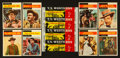 "Non-Sport Cards:Sets, 1958 Topps ""T.V. Westerns"" Complete Set (71) Plus Wrapper. ..."