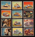 "Non-Sport Cards:Sets, 1950 Topps ""Freedom's War"" Complete Set (203) Plus Wrapper! ..."