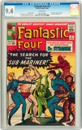 Silver Age (1956-1969):Superhero, Fantastic Four #27 (Marvel, 1964) CGC NM 9.4 White pages....