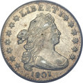 Early Dimes, 1801 10C AU55 PCGS. CAC. JR-1, R.4....