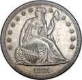 Seated Dollars, 1861 $1 MS61 NGC....
