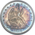 Proof Seated Half Dollars, 1858 50C PR65 PCGS....