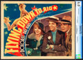 "Movie Posters:Musical, Flying Down to Rio (RKO, 1933). CGC Graded Lobby Card (11"" X 14"").. ..."